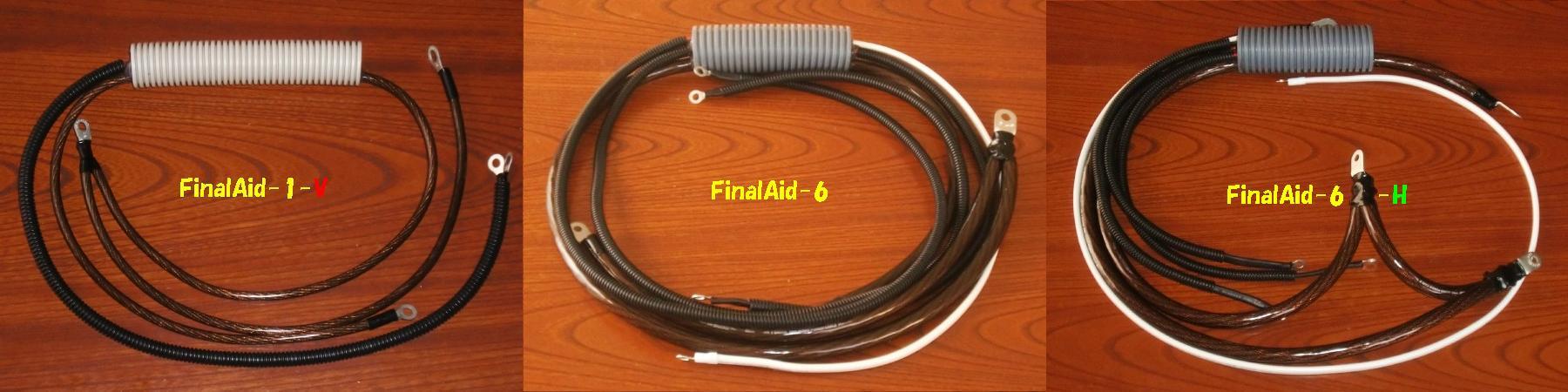 汎用ZチューンのベースのFinalAid-6(Hybrid車強化:FinalAid-6-H)、FinalAid-1-V(バイク専用)です♪